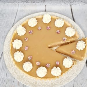 Bakealong - Butterscotch Tart